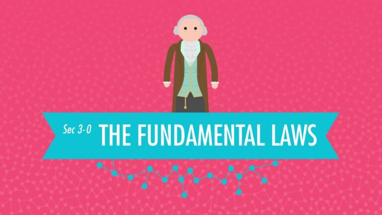 Chemistry: The Fundamental Laws
