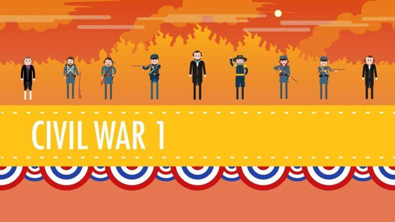 The Civil War Crash Course: Part 1