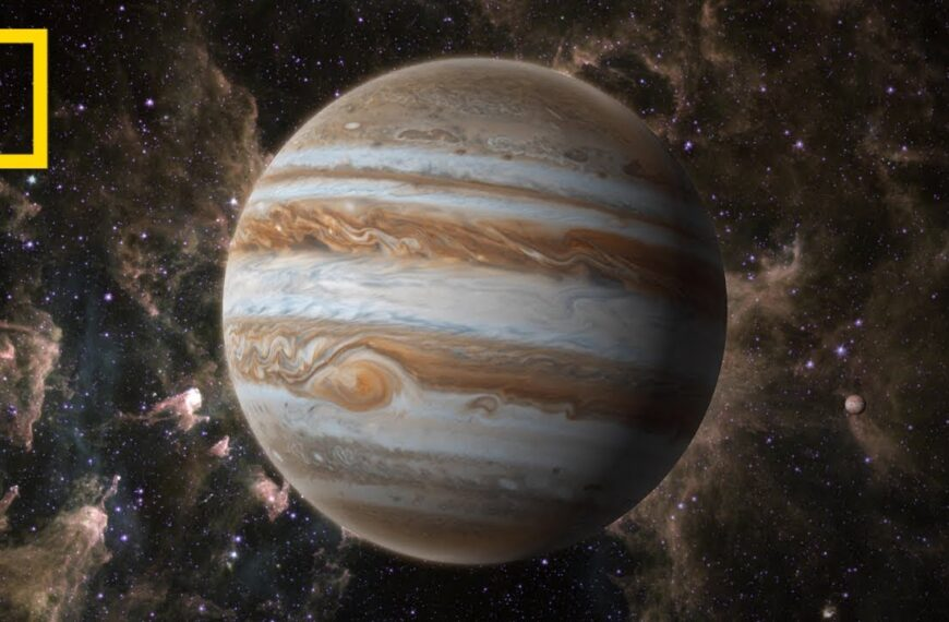 3 Minutes Of Jupiter From National Geographic