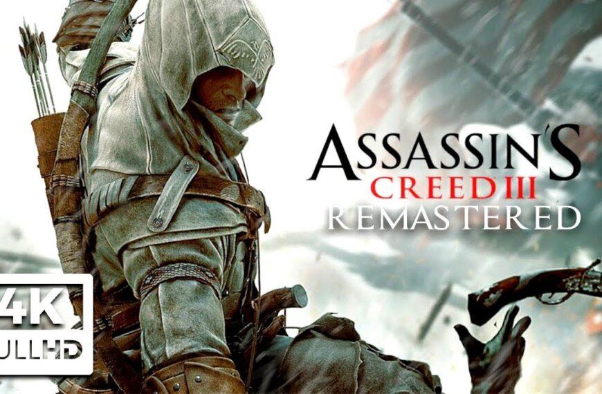 The Revolutionary War: Assassin's Creed III Cutscenes As A Movie